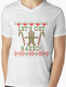 Let's Get Baked The Gingerbread Cookie Says T-Shirt