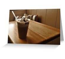 Ice Mocha - Chocolate Treat Greeting Card