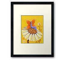 Singing Camomile Fairy Framed Print