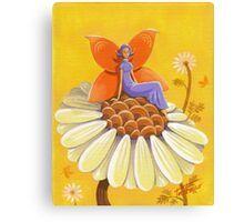 Singing Camomile Fairy Canvas Print