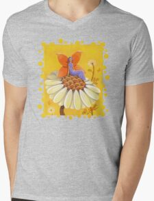 Singing Camomile Fairy Mens V-Neck T-Shirt