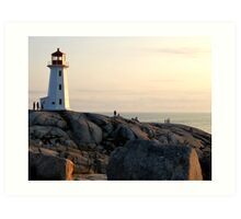 Safe Haven 2 - Peggy's Cove Art Print