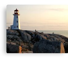 Safe Haven 2 - Peggy's Cove Canvas Print
