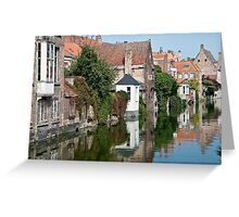 Belgian Reflections Greeting Card