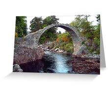 Carrbridge Greeting Card