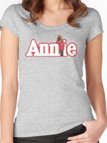 Little Orphan Annie Skywalker Women's Fitted Scoop T-Shirt