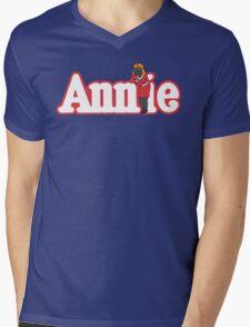 Little Orphan Annie Skywalker Mens V-Neck T-Shirt