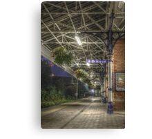 Poulton train station HDR Canvas Print