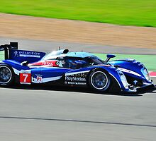 No 7 Peugeot 908 by Willie Jackson