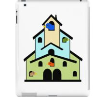 Tiered Bird House iPad Case/Skin
