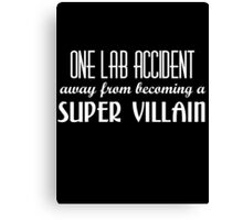 Super Villain Canvas Print