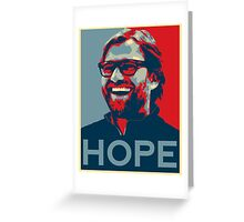 Jurgen Klopp Greeting Card