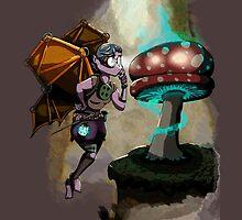 Steampunk Fairy by BunnyMaelstrom