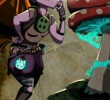Steampunk Fairy Sticker