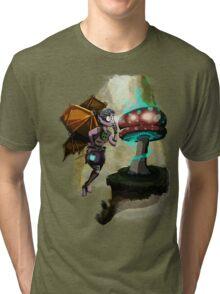 Steampunk Fairy Tri-blend T-Shirt