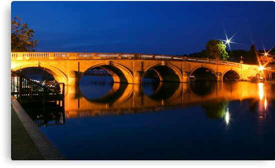 Blue hour at Henley by Neil  Pickin