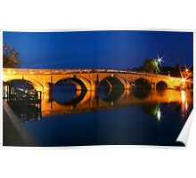 Blue hour at Henley Poster