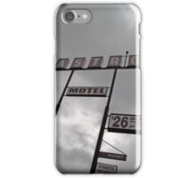 Astro Motel iPhone Case/Skin