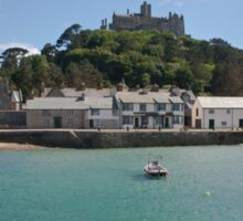 St Michael's Mount From The Ferry Boat Sticker