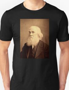 Lysander Spooner Portrait Anarchist Individualist Unisex T-Shirt