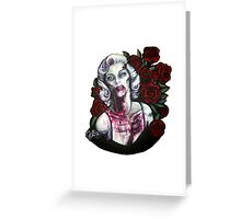 Marilyn's Not Dead Greeting Card