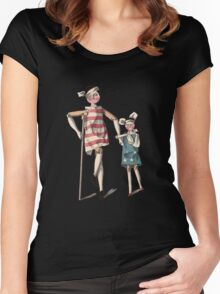 TheWalking Wounded Women's Fitted Scoop T-Shirt