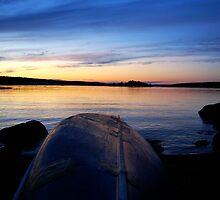 Lone Canoe - Lunenburg, NS, CA by Caites