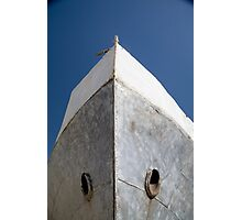 Aral Sea boat bow Photographic Print