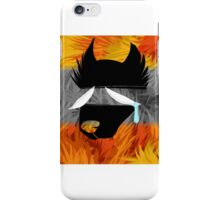 The wolf who cried wolf iPhone Case/Skin