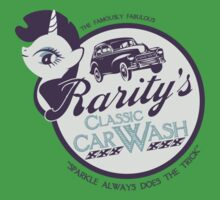 Rarity's Classic Car Wash One Piece - Short Sleeve