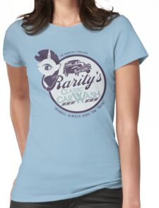 Rarity's Classic Car Wash Womens Fitted T-Shirt