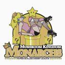 The Mushroom Kingdom Monarchs (Sticker) by rtofirefly