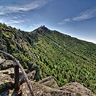 Stairway Ridge Trail on Whiteface Mountain, NY by Michael Schaefer