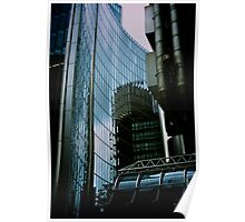 Lloyds Building Reflection Poster
