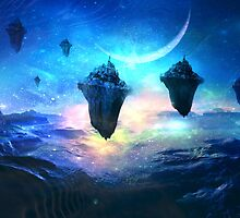 Sky Islands at Night by Vanessa Barklay