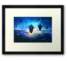 Sky Islands at Night Framed Print