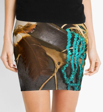 Southwest Feel Mini Skirt