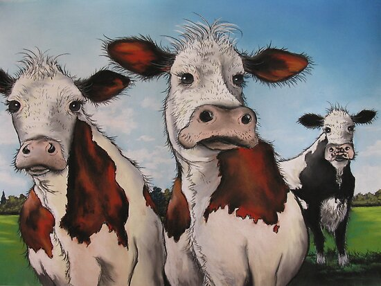 Til the cows come home.... by Sally Ford