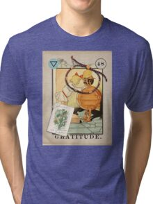 Gratitude - from The Marvelous Oracle of Oz Tri-blend T-Shirt