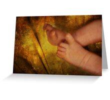 Precious Toes Greeting Card