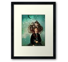 Sleeping beauty's dream Framed Print