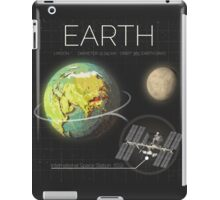 Planet Earth Infographic NASA iPad Case/Skin