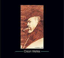 Tribute to Orson Welles by Michael Joseph Peraino