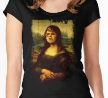 Zombie Lisa Women's Fitted Scoop T-Shirt