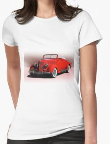 1936 Ford 'Old School' Convertible Coupe Womens Fitted T-Shirt