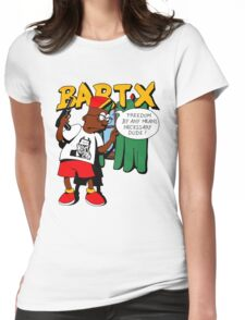 Bart X Womens Fitted T-Shirt