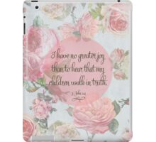 Children Walk in Truth iPad Case/Skin
