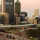 Perth skyline by thelanger