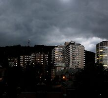 Stormy Mount Royal panorama by AndreCosto