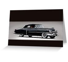 1953 Cadillac Eldorado Convertible VS Greeting Card